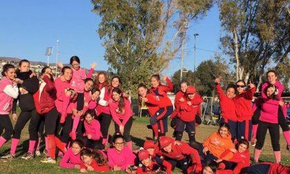"""A Pian di Poma il """"1° Winter Softball day"""" delle ragazze della Sanremese"""
