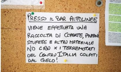 A Sanremo una raccolta di coperte e stufette per i terremotati del Centro Italia