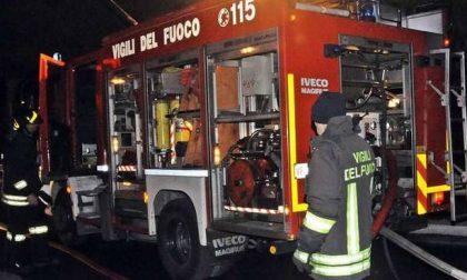 Brucia un garage a Sant'Agata di Imperia, guai anche per l'abitazione