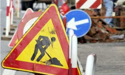 Caos viabilità per due settimane sull'Aurelia a Bordighera per la rotonda di via pasteur