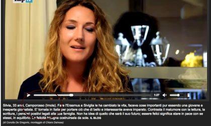 DALLA PROVINCIA DI IMOLA… DIRETTAMENTE SU REPUBBLICA.IT UNA VIDEOINTERVISTA A SILVIA SGARABOTTOLO