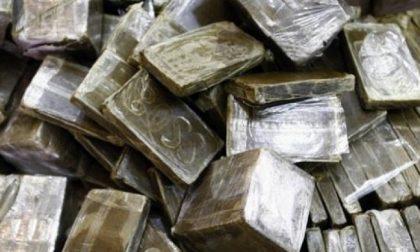 Due corrieri della droga condannati a 3 anni di carcere per 368 kg di hascisc