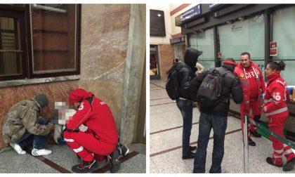 Gelo a Ventimiglia: Croce Rossa porta bevande calde ai clochard