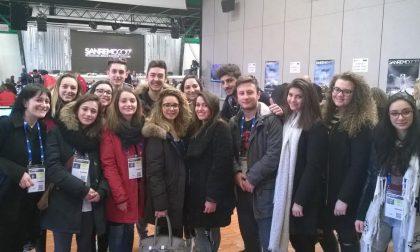 Gli studenti dell'Alberghiero impiegati in sala stampa al Festival