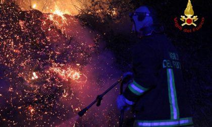 Incendi: due focolai ancora attivi in provincia di Imperia