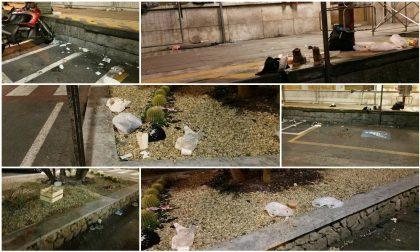 VENTIMIGLIA: RISCHIO IGIENE E DEGRADO ALLA STAZIONE, PIOGGIA DI PROTESTE/ FOTO