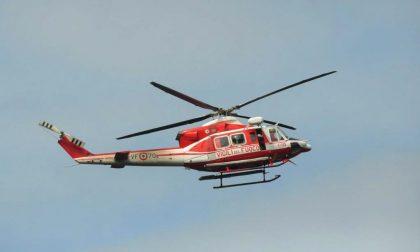 Schianto auto e bici in alta Valle Argentina, allertato elicottero