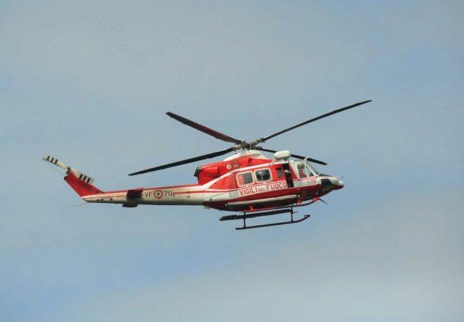 Incidente in moto a Nava, allertato anche l'elicottero