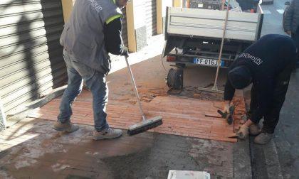 Ventimiglia, parte la messa in sicurezza dei marciapiedi