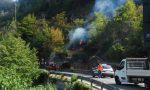 Incendi: bruciati 80 ettari a Olivetta, cinque fronti attivi in Liguria