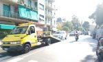 Corso Cavallotti bloccato per un Suv in panne in mezzo alla strada