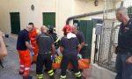 Cade dal terzo piano, gravissima donna di Sanremo. Allertato l'elisoccorso / Foto e video dei soccorsi