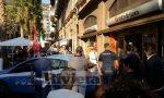 Liquido contro il gazebo di Casapound a Ventimiglia/ polizia ferma una persona