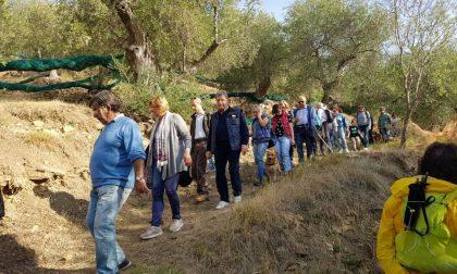 Aspettando il centenario, escursioni a Castelvecchio e Costa d'Oneglia