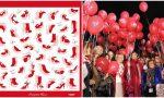 Da Sanremo il foulard simbolo contro la violenza sulle donne che farà in giro di 75 Nazioni