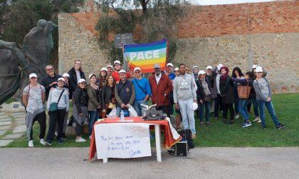 Grande successo per la Staffetta dei Giovani per la Pace / le foto