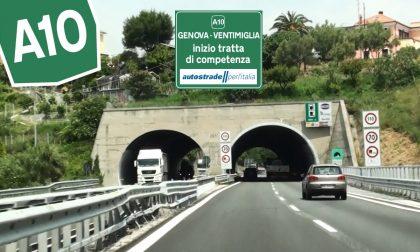 Code sull'Autostrada dei Fiori causa lavori