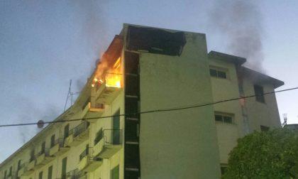 Diano: ragazzini addirittura di 10-11 anni dietro l'incendio dell'ex Hotel Teresa