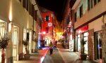 Il Natale di inVia: il centro di Oneglia ricco di luci natalizie