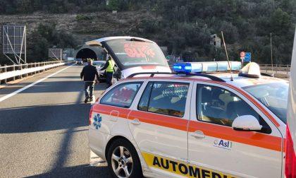 Incidente sull'Autofiori: registrate code fino a 8 km tra Sanremo e Imperia