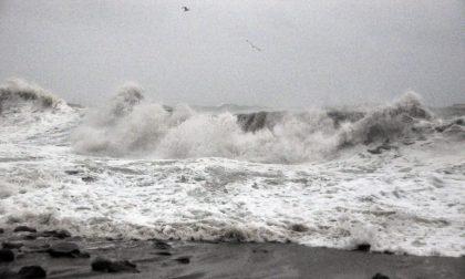 Chiuse le spiagge di Arma di Taggia per le condizioni meteo