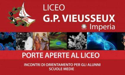 Domani open day al Vieusseux di Imperia