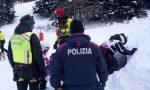 """Sciava in un tratto di pista """"vietato"""": trauma cranico per un 55enne di Sanremo"""