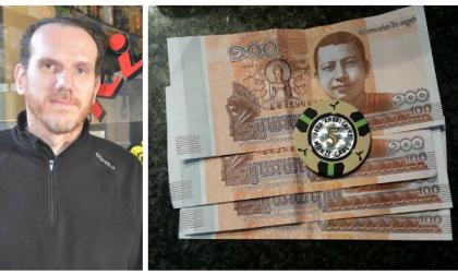 Ventimiglia: paga la pizza con una fiches da 5 euro del casinò e 400 Riel cambogiani