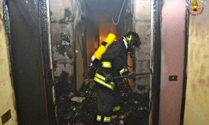 Incendio in un appartamento di Ventimiglia, inquilina portata in ospedale