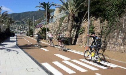 Pista ciclabile di Sanremo vietata a pedoni e biciclette il 13 aprile
