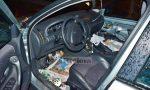Auto rubate e senza targhe utilizzate come dormitori alle Gianchette
