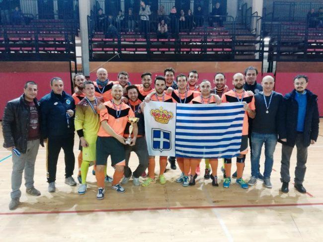 L'ASD Ospedaletti vince la Supercoppa di Seborga nel calcio a 5
