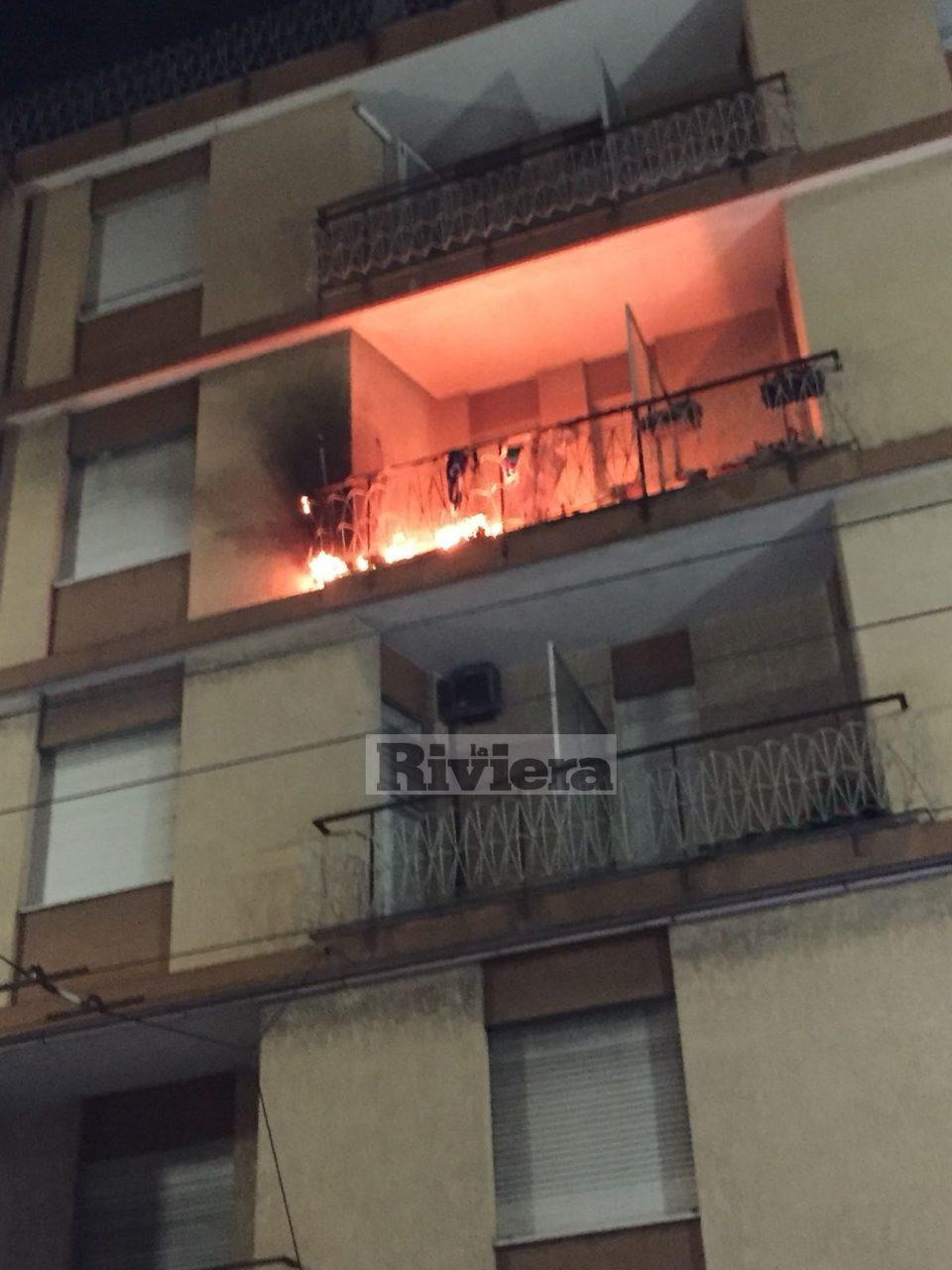 Brucia il terrazzo di casa e picchia vigili del fuoco e carabinieri ...