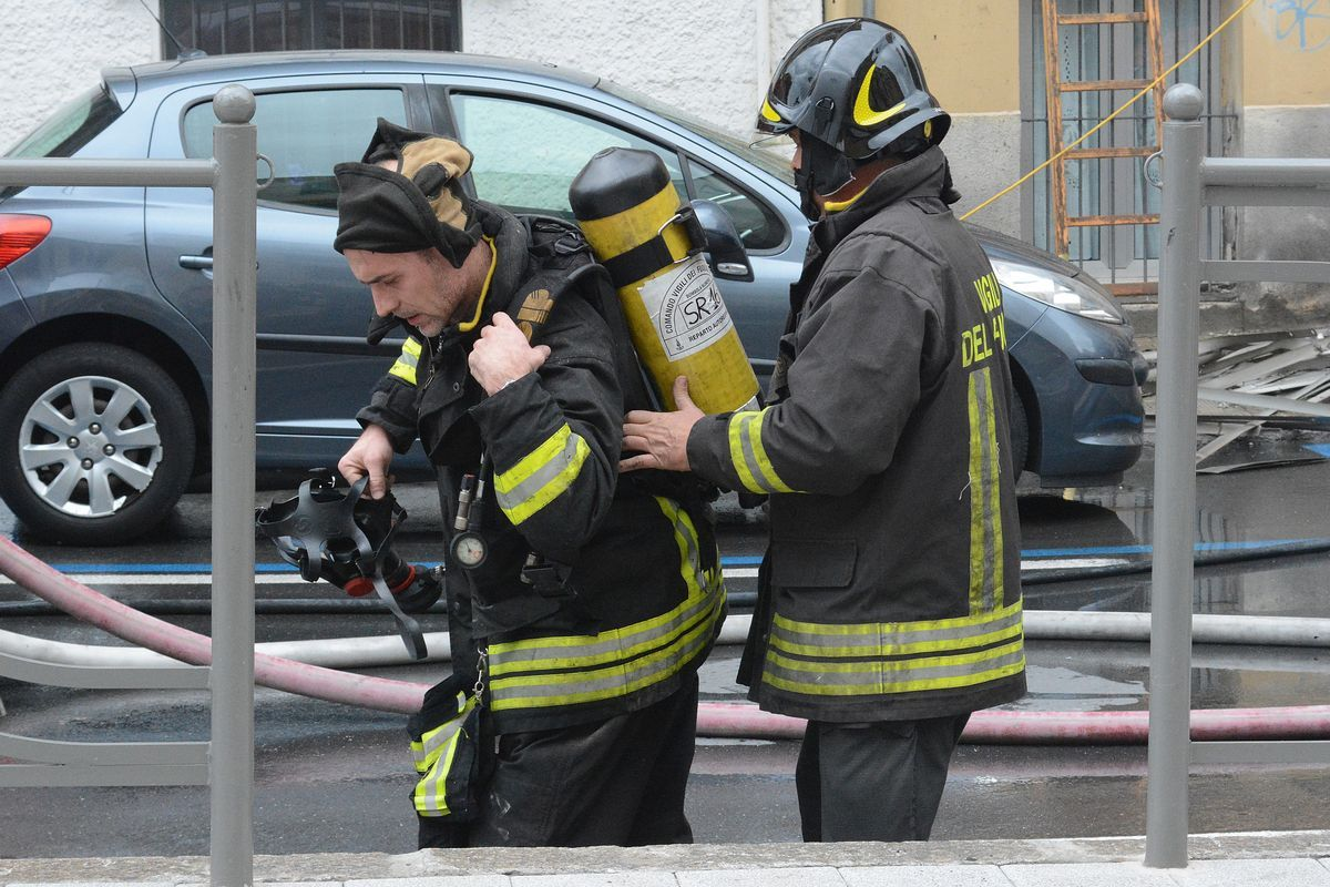 Sequestrato l'appartamento dell'incendio in via Nino Bixio