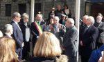 Il Principe Ranieri di Monaco all'inaugurazione del Museo dei Balzi Rossi
