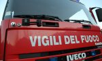 Vigili del fuoco in azone per una fuga di gas sull'Aurelia