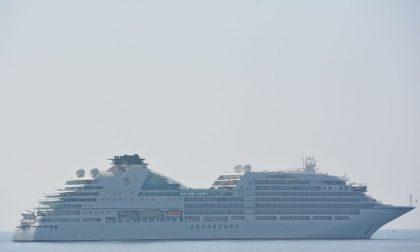 Sbarca A Sanremo La Nave Da Crociera Seabourn Encore Prima La Riviera