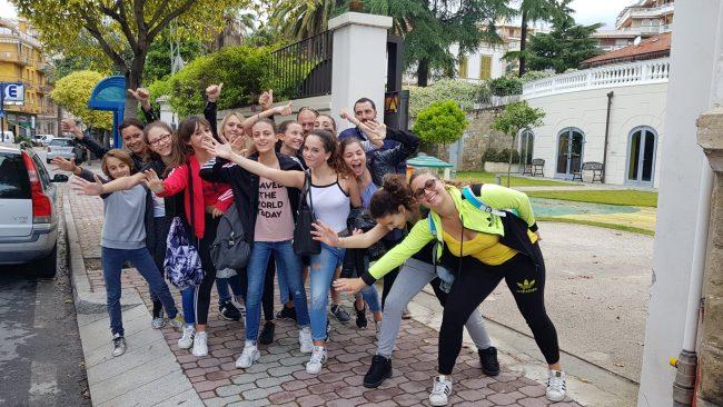 I ballerini di Sanremo al concorso internazionale di Genova