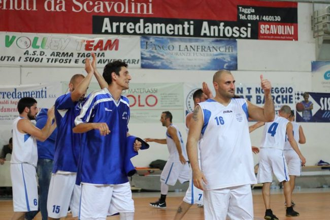 Sfuma il sogno promozione per l&#8217&#x3B;Olimpia Basket Arma Taggia che cade a Savona