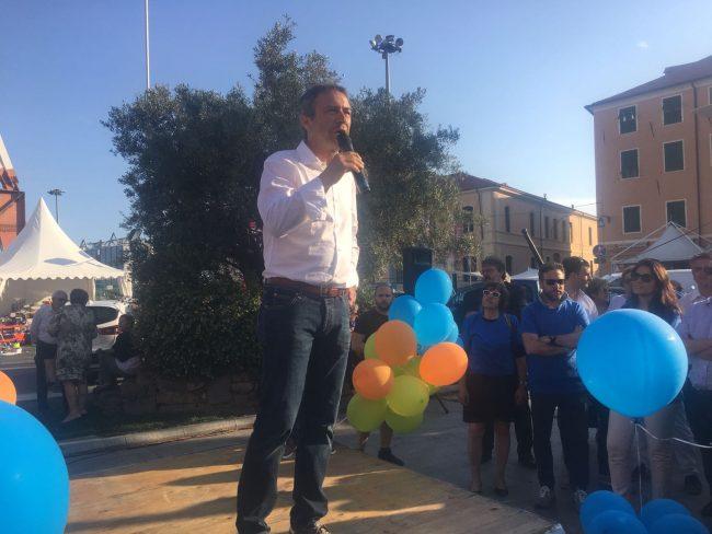 Luca Lanteri chiude la campagna elettorale