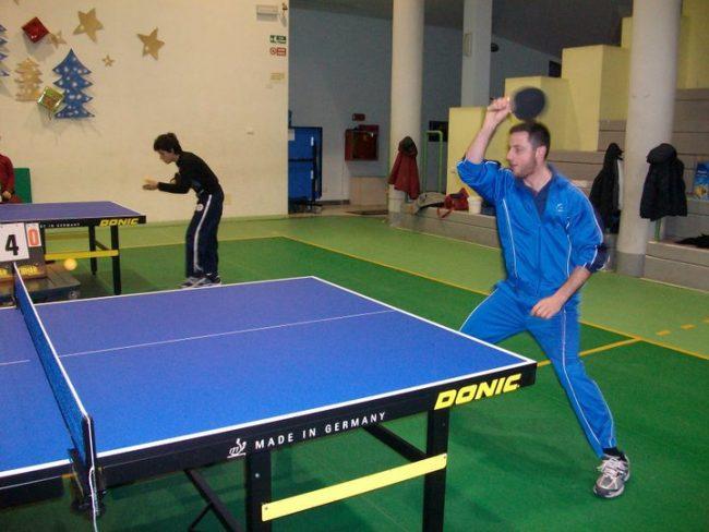 Buona prestazione di Matteo Cichero al Campionato Interforze di Tennistavolo