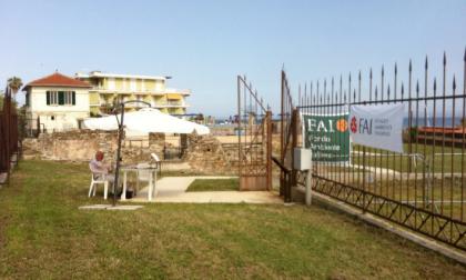 Sanremo, riprendono le visite alla Villa Romana della Foce