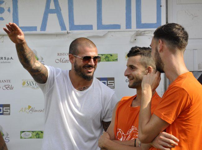Stefano Sturaro guest star al torneo di beneficenza vinto dagli Irriducibili a Sanremo