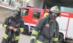 Stufetta accesa provoca l'incendio di un sottotetto