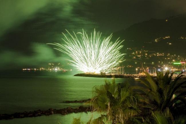 Diano Marina: fuochi d&#8217&#x3B;artificio per la festa patronale