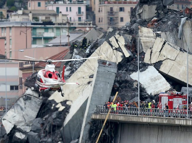 Ponte Morandi: pronti 45 alloggi per gli sfollati