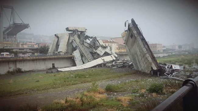 Ponte crollato: morti sono 43