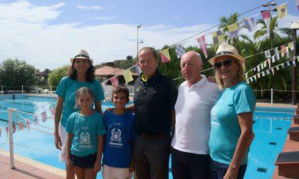 I vincitori e le borse di studio della Volée Cup Giuseppe Fassola al Tennis Solaro