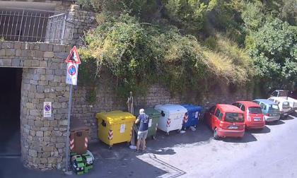 Taggia: il sindaco Conio pizzica un altro furbetto dei rifiuti