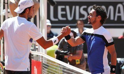 Fognini e Berrettini oggi la semifinale in doppio a San Pietroburgo